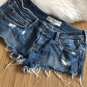 Abercrombie & Fitch | Shorts Distressed